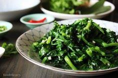 Flash Fried Pea Shoots - 235 Chinese Recipes - RecipePin.com