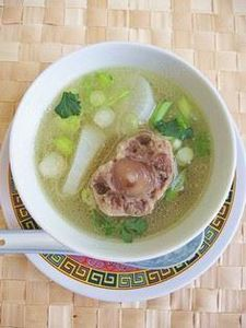 Oxtail and Daikon Soup - 235 Chinese Recipes - RecipePin.com