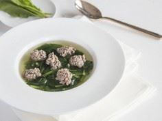 Spinach and Minced Beef Soup - 235 Chinese Recipes - RecipePin.com