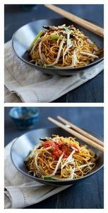 Vegetable chow mein: vegan friendl - 235 Chinese Recipes - RecipePin.com