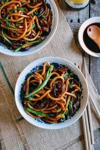 Shanghai Fried Noodles (上&# - 235 Chinese Recipes - RecipePin.com