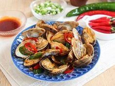 Spicy Chili Clams - 235 Chinese Recipes - RecipePin.com