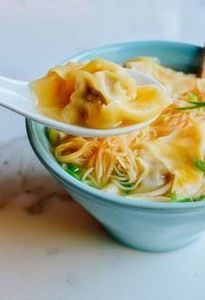 Cantonese Wonton Noodle Soup by Th - 235 Chinese Recipes - RecipePin.com