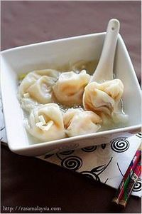 Wonton Soup Recipe, best for cold  - 235 Chinese Recipes - RecipePin.com