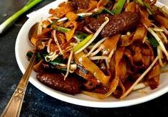 RICE NOODLES W/ BEEF (gon chow nga - 235 Chinese Recipes - RecipePin.com