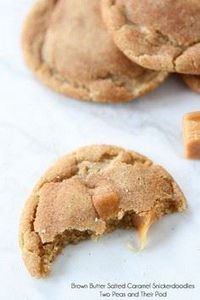 Brown Butter Salted Caramel Snicke - 300 Favorite Cookie Recipes - RecipePin.com
