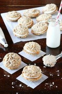 Homemade Oatmeal Buttercream Pies. - 300 Favorite Cookie Recipes - RecipePin.com