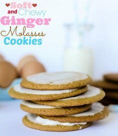 Soft and Chewy Ginger Molasses Coo - 300 Favorite Cookie Recipes - RecipePin.com