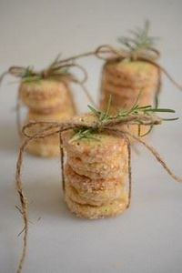 Rosemary Butter Cookies - 300 Favorite Cookie Recipes - RecipePin.com