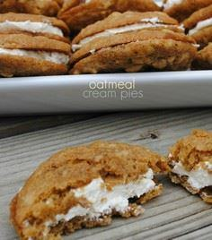 Copycat Little Debbie Oatmeal Crea - 300 Favorite Cookie Recipes - RecipePin.com