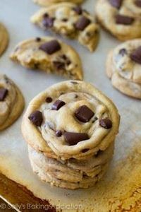 The chewiest, softest, thickest Ch - 300 Favorite Cookie Recipes - RecipePin.com