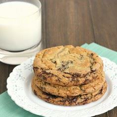 Thousand-Layer Chocolate Chip Cook - 300 Favorite Cookie Recipes - RecipePin.com