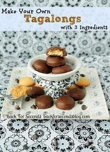 Make Tagalongs with 3 Ingredients! - 300 Favorite Cookie Recipes - RecipePin.com