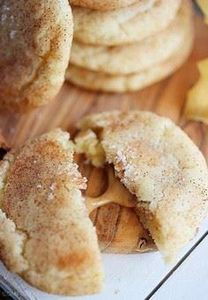 Sea Salt Caramel Stuffed Snickerdo - 300 Favorite Cookie Recipes - RecipePin.com