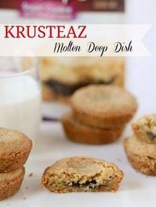 Krusteaz Molten Deep Dish Cookies - 300 Favorite Cookie Recipes - RecipePin.com