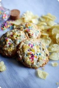 Potato Chip Cookies - 300 Favorite Cookie Recipes - RecipePin.com