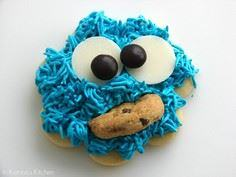 Cookie Monster Cookies - 300 Favorite Cookie Recipes - RecipePin.com