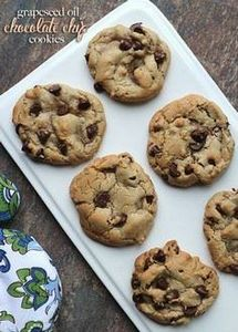 Grapeseed Oil Chocolate Chip Cooki - 300 Favorite Cookie Recipes - RecipePin.com