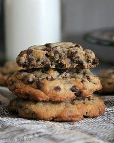 The PERFECT Chocolate Chip Cookie! - 300 Favorite Cookie Recipes - RecipePin.com