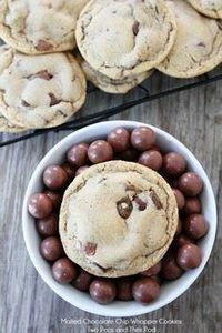 Malted Chocolate Chip Whoppers Coo - 300 Favorite Cookie Recipes - RecipePin.com
