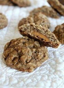 Rolo-Stuffed Chocolate Oatmeal Coo - 300 Favorite Cookie Recipes - RecipePin.com