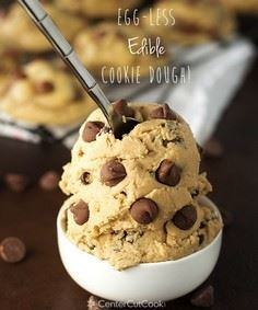 Edible, Egg-less Chocolate Chip Co - 300 Favorite Cookie Recipes - RecipePin.com