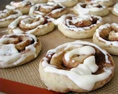 Cinnamon Roll Sugar Cookies - 300 Favorite Cookie Recipes - RecipePin.com