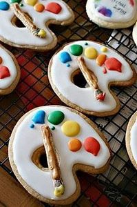 For the artist in everyone. - 300 Favorite Cookie Recipes - RecipePin.com
