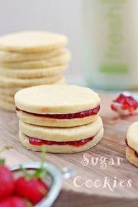 Lemon Sugar Cookies - Buttery melt - 300 Favorite Cookie Recipes - RecipePin.com
