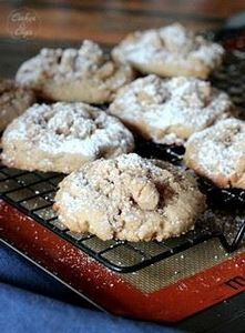 HUGE coffee cake cookies filled wi - 300 Favorite Cookie Recipes - RecipePin.com