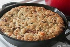 Skillet Baked Candy Bar Stuffed Do - 300 Favorite Cookie Recipes - RecipePin.com