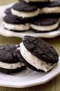 Brownie Cookie Dough Sandwiches - 300 Favorite Cookie Recipes - RecipePin.com