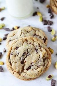 Dark Chocolate Chunk, Pistachio, a - 300 Favorite Cookie Recipes - RecipePin.com