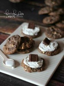 Hot Chocolate Cookies - 300 Favorite Cookie Recipes - RecipePin.com
