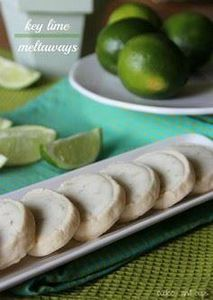 Key Lime Meltaway Shortbread - 300 Favorite Cookie Recipes - RecipePin.com