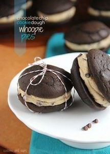 Chocolate Chip Cookie Dough Whoopi - 300 Favorite Cookie Recipes - RecipePin.com