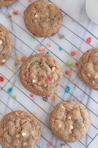 Brown Butter Fruity Pebble Marshma - 300 Favorite Cookie Recipes - RecipePin.com