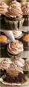 Chocolate Cupcakes with Salted Dul - 280 Cupcake Recipes - RecipePin.com