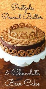 Pretzels, Peanut Butter, and Choco - 240 Desserts with Peanut Butter Or Nut Butter - RecipePin.com