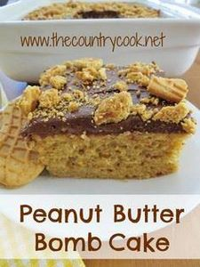 The Country Cook: Peanut Butter Bo - 240 Desserts with Peanut Butter Or Nut Butter - RecipePin.com