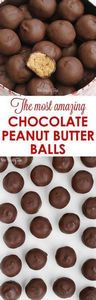 The most amazing chocolate peanut  - 240 Desserts with Peanut Butter Or Nut Butter - RecipePin.com