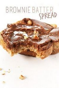 Brownie Batter Spread! So easy and - 240 Desserts with Peanut Butter Or Nut Butter - RecipePin.com