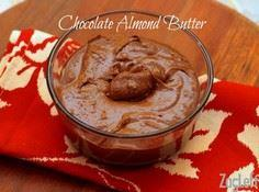 Chocolate Almond Butter - 240 Desserts with Peanut Butter Or Nut Butter - RecipePin.com