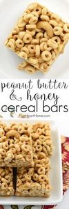 Peanut Butter & Honey Cereal B - 240 Desserts with Peanut Butter Or Nut Butter - RecipePin.com