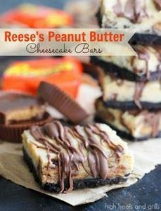 Reese's Peanut Butter Cheesecake B - 240 Desserts with Peanut Butter Or Nut Butter - RecipePin.com