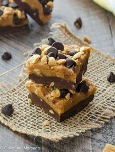 Salted Dark Chocolate Peanut Butte - 240 Desserts with Peanut Butter Or Nut Butter - RecipePin.com