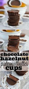 These 3 ingredient Chocolate Hazel - 240 Desserts with Peanut Butter Or Nut Butter - RecipePin.com