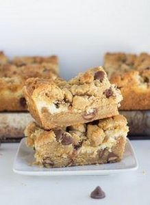 Peanut Butter Chocolate Chip Chees - 240 Desserts with Peanut Butter Or Nut Butter - RecipePin.com
