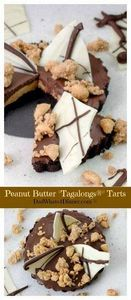 Are Girl Scouts Tagalongs® cookies - 240 Desserts with Peanut Butter Or Nut Butter - RecipePin.com