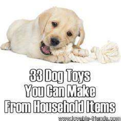 33 Dog Toys You Can Make From Hous - 400 Dog Food And Dog Treat Recipes - RecipePin.com